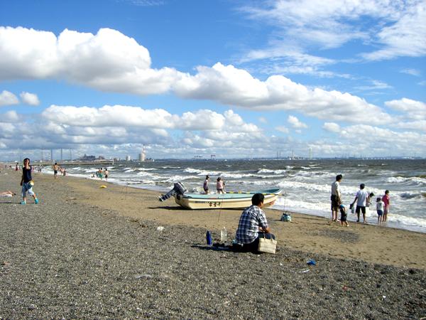 8月23日 稲毛海岸
