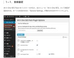 <All in One SEO>の設定